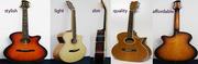 New Slim Acoustic Guitar Handmade with Pick Up (newendguitars.com)