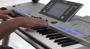 Yamaha Tyros4 Arranger Workstation Keyboard