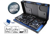 2x Limited Edition CDJ-400-K turntables  1 Limited Edition DJM-400