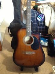 Electric/Acoustic Guitar & Electric Guitar and Amp for sale!