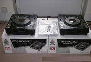 2X PIONEER CDJ-350 Turntable DJM-350 Mixer