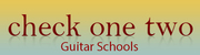Check One Two Guitar Schools