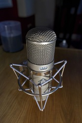 Neumann U47/Brauner Valvet Tube/Audio-Technica AT5040 Microphone