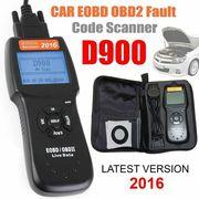 D900 Diagnostic Scanner Reader Auto Car OBD2 OBDII EOBD Fault Code CAN